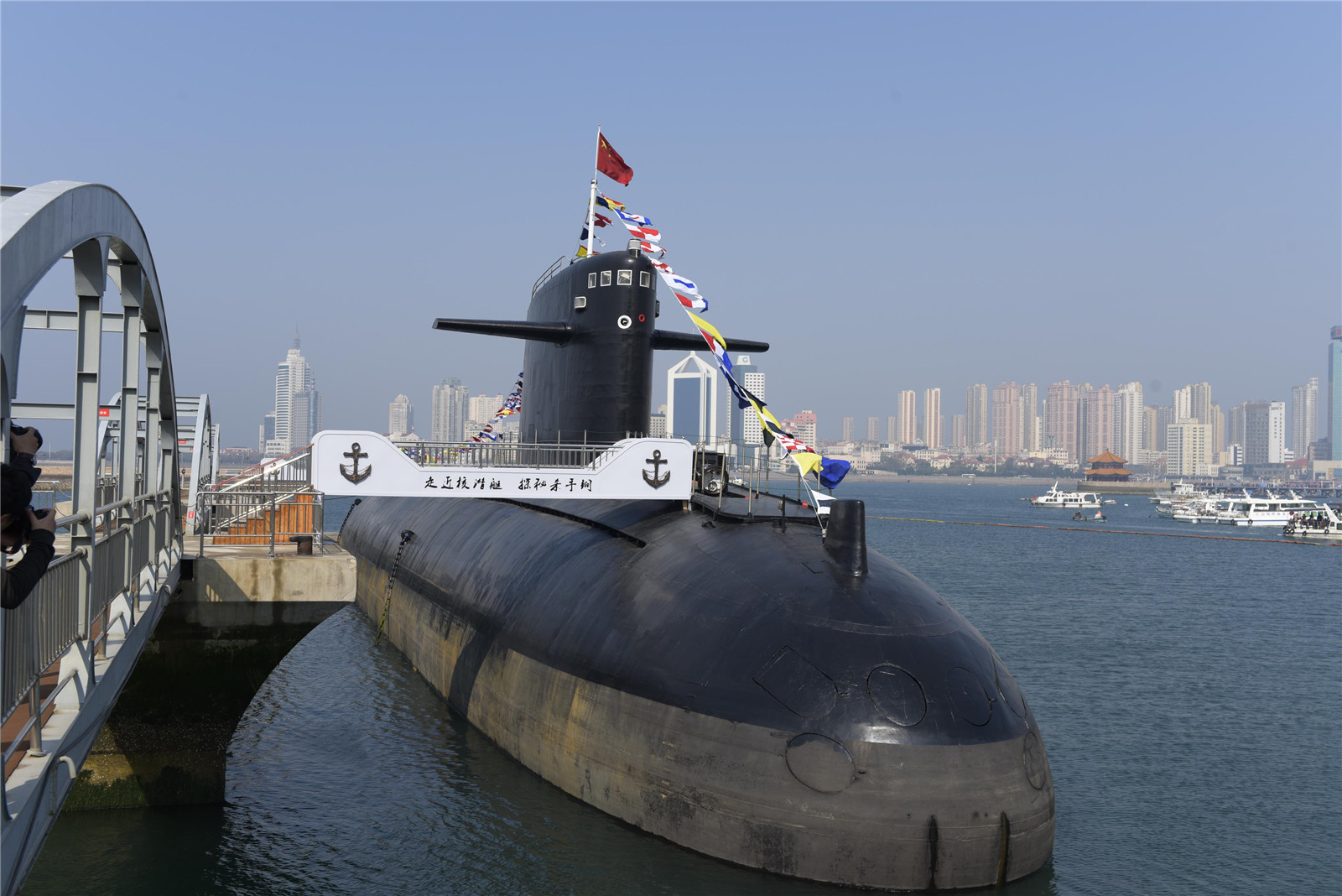 China's nuclear-powered submarine opens to public